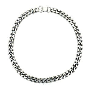 """Vintage Heavy Weight Lisner Chain Necklace - 15"""""""